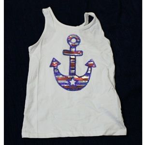 Jillians Closet Patriotic Anchor Sequins